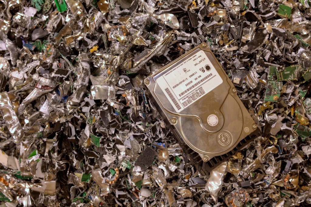 data destruction, impact recyclers